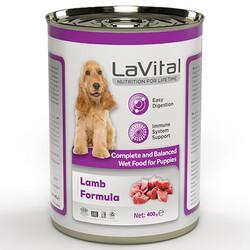 La Vital - La Vital Puppy Lamb Tahılsız Kuzu Etli Püre Yavru Köpek Konservesi 400 Gr
