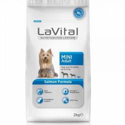 La Vital - La Vital Somonlu Mini Yetişkin Köpek Maması 2 Kg