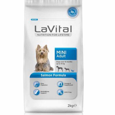 La Vital Somonlu Mini Yetişkin Köpek Maması 2 Kg