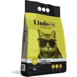 Lindo Cat - LindoCat Hijyenik Topaklaşan Kokusuz Kalın Taneli Kedi Kumu 10 Lt