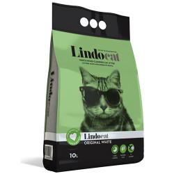 Lindo Cat - LindoCat Hijyenik Topaklaşan Kokusuz Yavru ve Yetişkin İnce Taneli Kedi Kumu 10 Lt