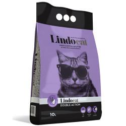 Lindo Cat - LindoCat Hijyenik Topaklaşan Lavantalı İnce Taneli Kedi Kumu 10 Lt