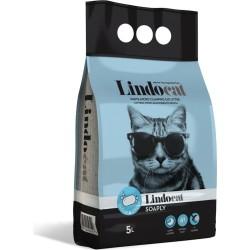 Lindo Cat - LindoCat Hijyenik Topaklaşan Sabunlu İnce Taneli Kedi Kumu 5 Lt