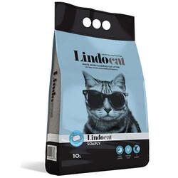 Lindo Cat - LindoCat Hijyenik Topaklaşan Sabunlu Kalın Taneli Kedi Kumu 10 Lt