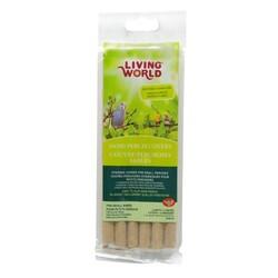 Living World - Living World 80325 Küçük Kuşlar İçin Kumlu Tünek 6 lı Paket