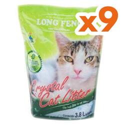 Long Feng - Long Feng Extra Kristal Silika Doğal Kedi Kumu 3.8 Lt - 1 Koli (9 Adet)
