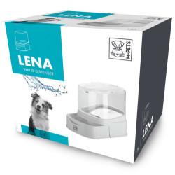 M-Pet - M-Pet Lena Çekmeceli Kedi ve Küçük Irk Köpek Rezerv Su Kabı 2 Lt