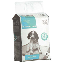 M-Pet - M-Pet Puppy Training Tuvalet Egitim Çiş Pedi 60x60 Cm (15 Adet)