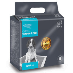 M-Pet - M-Pet Training Carbon Tuvalet Egitim Çiş Pedi 60x60 Cm (15 Adet)