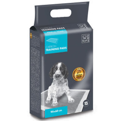 M-Pet - M-Pet Training Carbon Tuvalet Egitim Çiş Pedi 90x60 Cm (15 Adet)