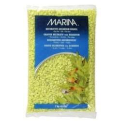 Marina - Marina Renk Çakıl Fosfor Yeşil 2 Kg.