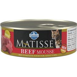 Matisse - Matisse Beef Mousse Biftekli Kedi Konservesi 85 Gr