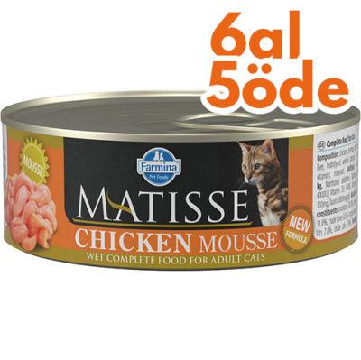 Matisse Chicken Mousse Tavuklu Kedi Konservesi 85 Gr - 6 Al 5 Öde