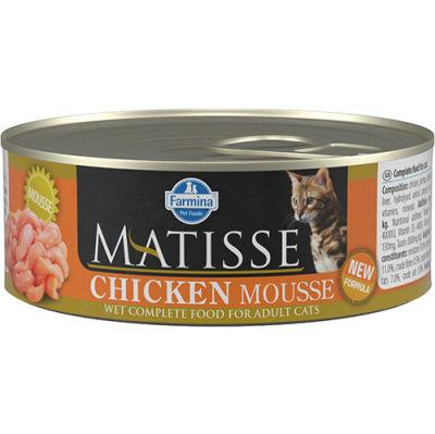 Matisse Chicken Mousse Tavuklu Kedi Konservesi 85 Gr