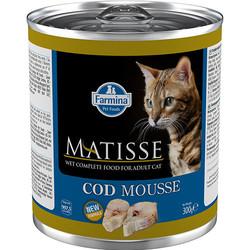 Matisse - Matisse Codfish Mousse Morina Balıklı Kedi Konservesi 300 Gr