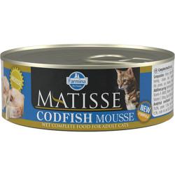Matisse - Matisse Codfish Mousse Morina Balıklı Kedi Konservesi 85 Gr