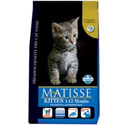 Matisse - Matisse Kitten Yavru Kedi Maması 1,5 Kg+2 Adet Temizlik Mendili
