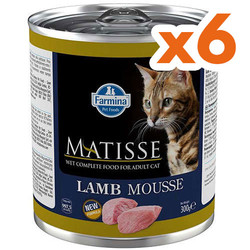 Matisse - Matisse Lamb Mousse Kuzu Etli Kedi Konservesi 300 Gr x 6 Adet