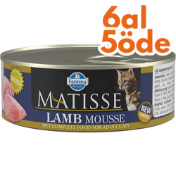 Matisse - Matisse Lamb Mousse Kuzu Etli Kedi Konservesi 85 Gr - 6 Al 5 Öde