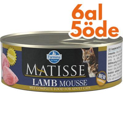 Matisse Lamb Mousse Kuzu Etli Kedi Konservesi 85 Gr - 6 Al 5 Öde