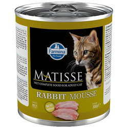 Matisse - Matisse Rabbit Mousse Tavşanlı Kedi Konservesi 300 Gr