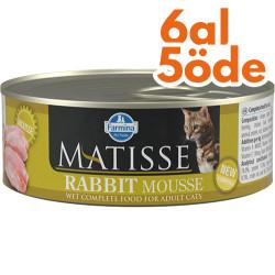 Matisse - Matisse Rabbit Mousse Tavşanlı Kedi Konservesi 85 Gr - 6 Al 5 Öde