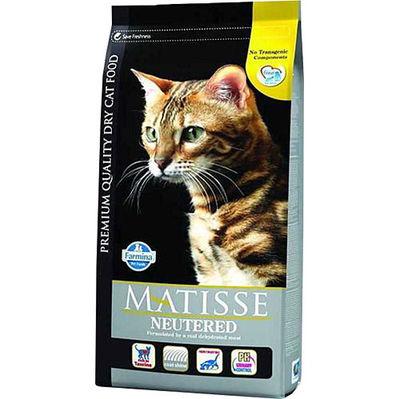 Matisse Tavuklu Kısırlaştırılmış Kedi Maması 1,5 Kg+2 Adet Temizlik Mendili