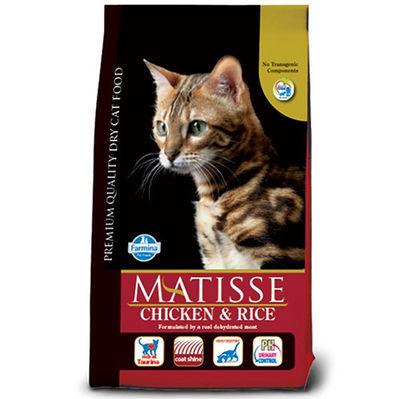 Matisse Tavuklu Pirinçli Yetişkin Kedi Maması 10 Kg + 10 Adet Temizlik Mendili