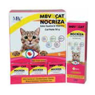 MBV Nocriza Taurin ve Vitamin Peynirli Kedi Macunu 50 Gr