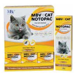 MBV - MBV Notopac Ekstra Malt Soft Tüy Yumağı Kontrol Peynirli Kedi Macunu 50 Gr