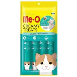 Me-O - Me-O Creamy Treats Kurutulmuş Ton Balığı Ek Besin ve Kedi Ödülü 60 Gr ( 4 x 15 Gr )