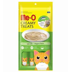 Me-O - Me-O Creamy Treats Mavi Yüzgeçli Orkinos Balıklı Ek Besin ve Kedi Ödülü 60 Gr ( 4 x 15 Gr )