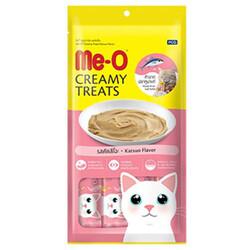 Me-O - Me-O Creamy Treats Orkinos Balığı Tuna Ek Besin ve Kedi Ödülü 60 Gr ( 4 x 15 Gr )