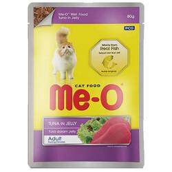 Me-O - Me-O Ton Balıklı Jöleli Yaş Kedi Maması 80 Gr