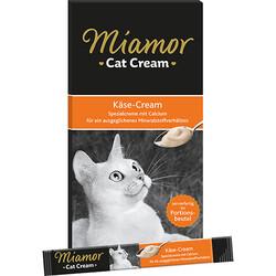 Miamor - Miamor Kase Cream Tamamlayıcı Ek Besin ve Kedi Ödülü 6 x 15 Gr