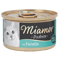 Miamor - Miamor Pastete Alabalıklı Yetişkin Kedi Konservesi 85 Gr