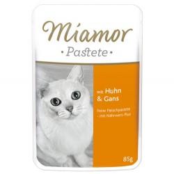 Miamor - Miamor Pastete Pouch Tavuk ve Kaz Kedi Maması 85 Gr