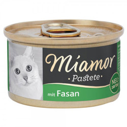 Miamor - Miamor Pastete Sülün Etli Yetişkin Kedi Konservesi 85 Gr
