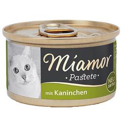 Miamor - Miamor Pastete Tavşanlı Yetişkin Kedi Konservesi 85 Gr
