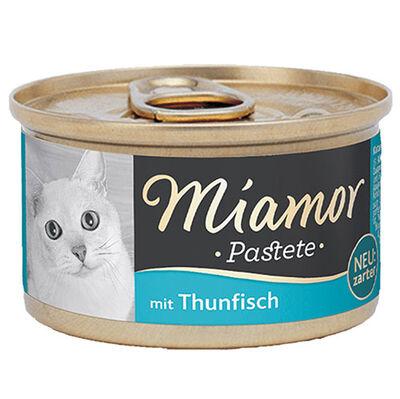 Miamor Pastete Ton Balıklı Yetişkin Kedi Konservesi 85 Gr