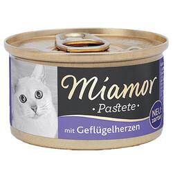 Miamor - Miamor Pastete Yürekli Yetişkin Kedi Konservesi 85 Gr