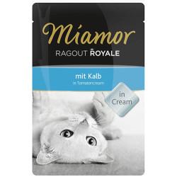 Miamor - Miamor Ragout in Cream Domates Kremalı Buzağı Etli Pouch Kedi Maması 100 Gr