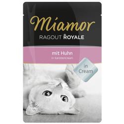 Miamor - Miamor Ragout in Cream Havuç Kremalı Tavuk Etli Pouch Kedi Maması 100 Gr