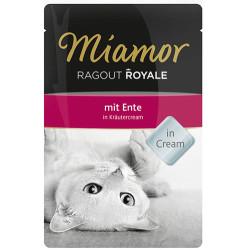 Miamor - Miamor Ragout in Cream Kekik Kremalı Ördek Etli Pouch Kedi Maması 100 Gr