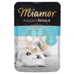 Miamor - Miamor Ragout in Jelly Somonlu Pouch Kedi Maması 100 Gr