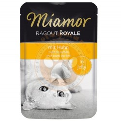 Miamor - Miamor Ragout in Jelly Tavuk Etli Pouch Kedi Maması 100 Gr