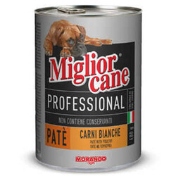 Miglior Cane - Miglior Cane Pate Kümes Hayvanlı Köpek Konservesi 400 Gr