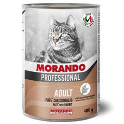 Morando - Morando Pate Tavşan Etli Kedi Konservesi 400 Gr