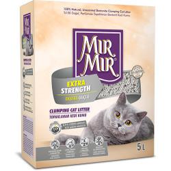 Mırmır - Mırmır Extra Strength Aktif Karbon Ekstra Güçlü Topaklanan Kedi Kumu 5 Lt