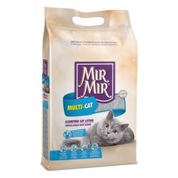 Mırmır - Mırmır Poşet Multi-Cat Birden Fazla Kedi İçin Topaklanan Kedi Kumu 5 Lt